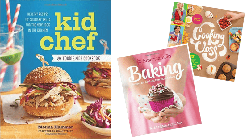 Best Non-Toy Gifts for Kids - Hobbies & Interests - Cook Books