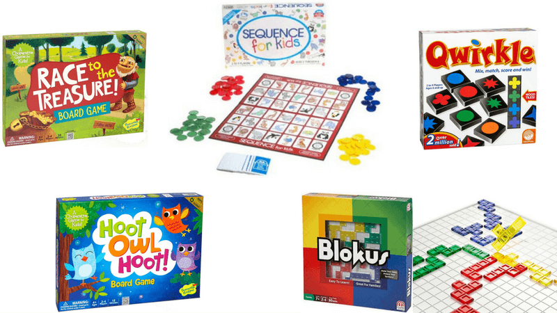 Best Non-Toy Gift Guide for Kids - Board Games