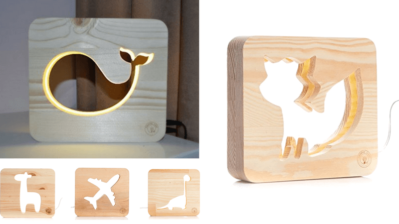 Best Non-Toy Gifts for Kids - night light