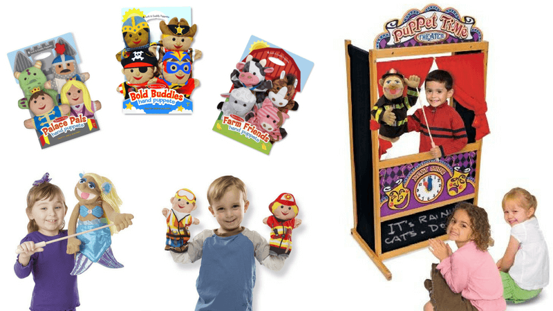 Best Non-Toy Gifts for Kids - Puppet Theatre