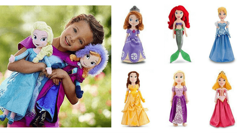 Dolls, Clothing & Accessories Inventive Disney Princess Soft Dolls Large Bundle Of 15 Gifts.