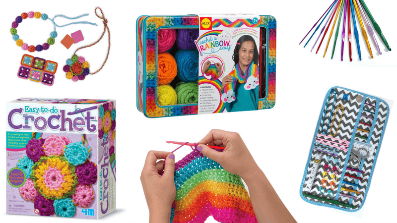 Best Non-Toy Gifts for Kids - Hobbies & Interests - Crochet Kit