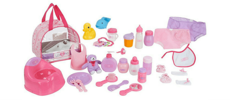 Gift Guide Best Toys for Doll Lovers - You and Me Doll Care Set