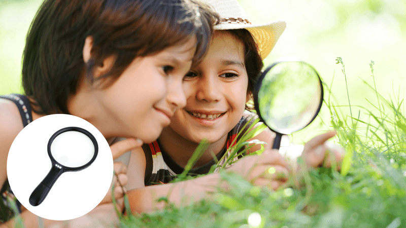 Best Non-Toy Gift Guide for Kids - Magnifying Glass