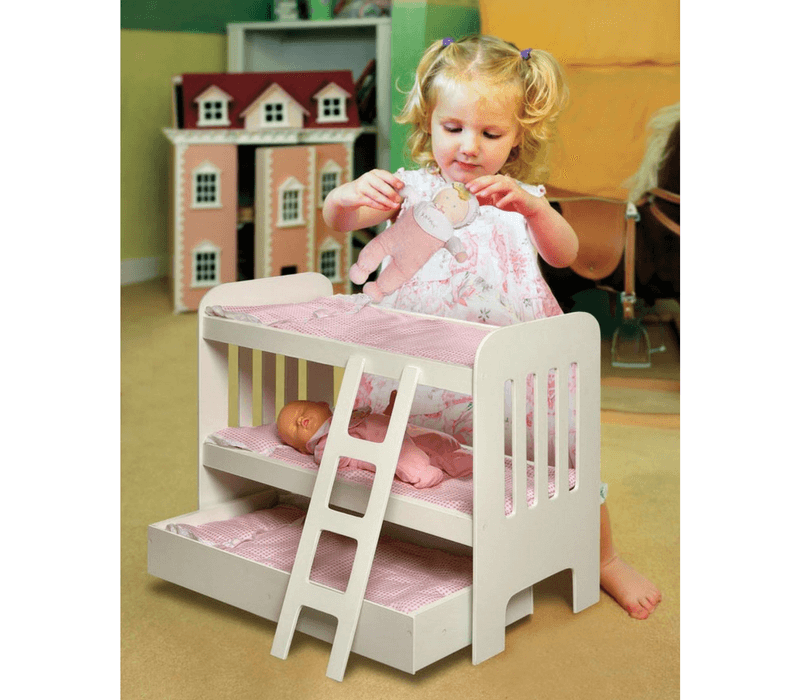 Gift Guide Best Toys for Doll Lovers - Badger Basket Bunk Bed