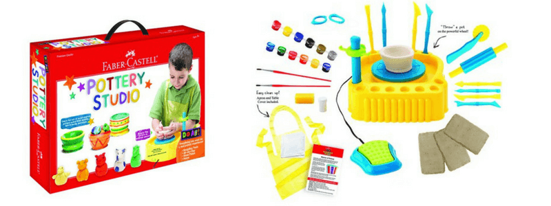 Best Non-Toy Gifts for Kids - Hobbies & Interests - pottery wheel