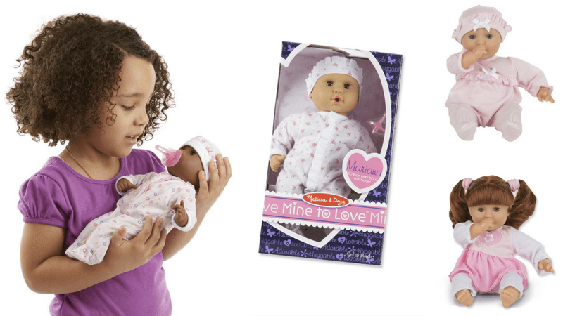 gift guide best toys for doll lovers melissa and doug mine to love dolls