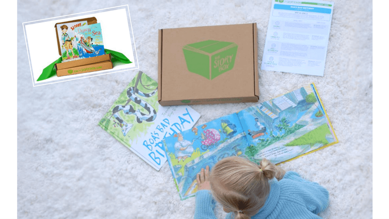 Best Subscription Boxes for Kids - The Story Box