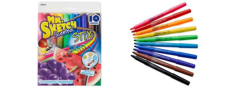 Best Non-Toy Gifts for Kids - Hobbies & Interests - Scented Markers