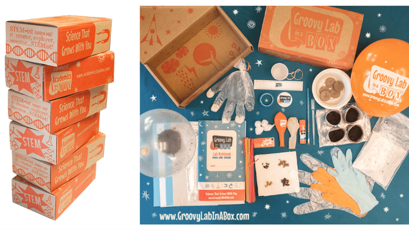 Best Subscription Boxes - Groovy Lab In a Box