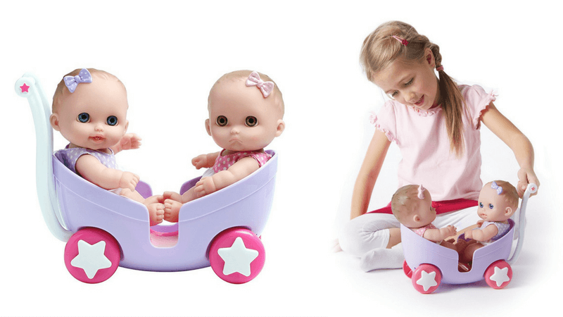 Gift Guide Best Toys for Doll Lovers - JC Toys Lil Cuties with Stroller