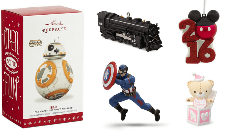 Best Non-Toy Gifts for Kids - Hallmark Holiday Ornament