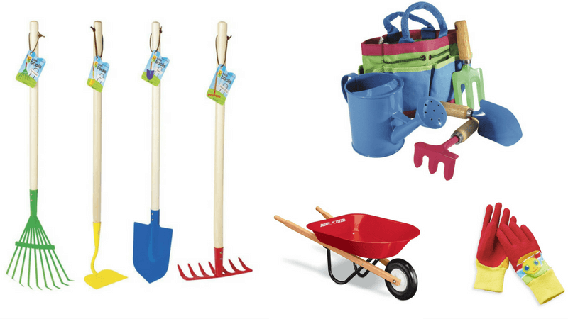Best Non-Toy Gift Guide for Kids - gardening tools