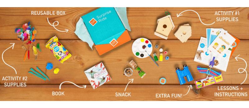 Best Subscription Boxes for Kids - Surprise Ride