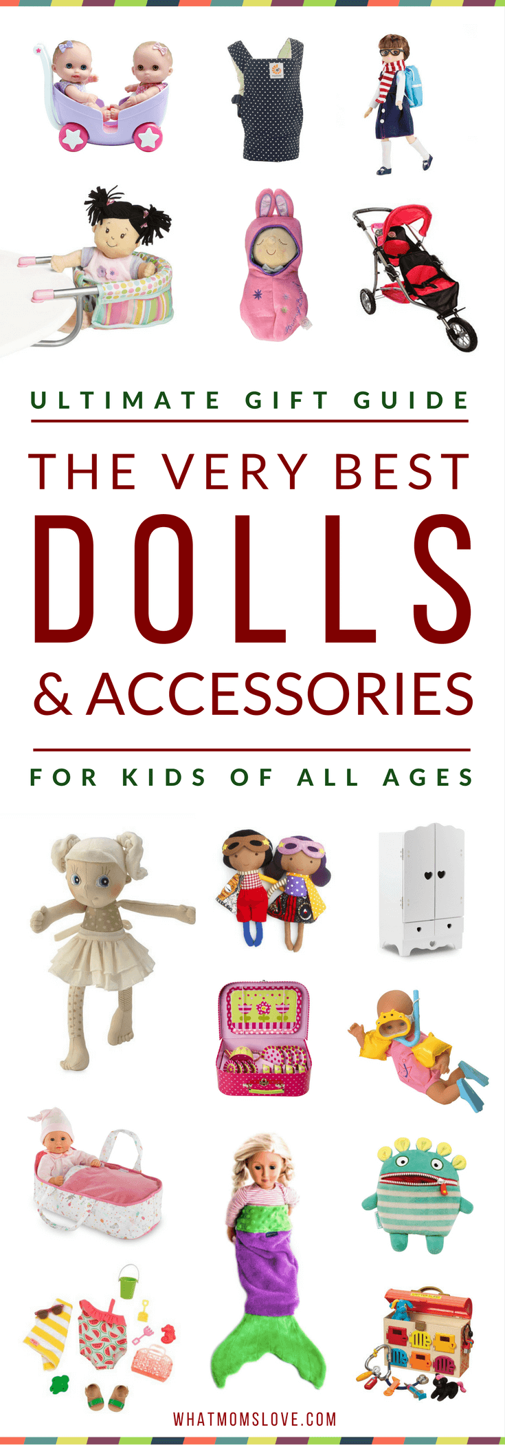 Gift Guide Best Toys for Doll Lovers - PINTEREST
