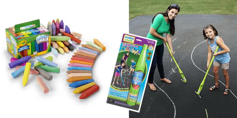 Best Non-Toy Gifts for Kids - Sidewalk Chalk