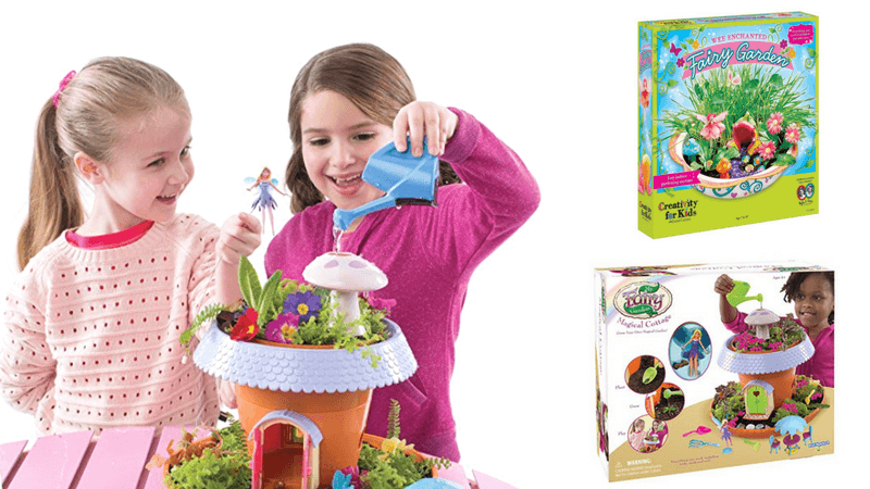 Best Non-Toy Gift Guide for Kids - Fairy Garden Kit
