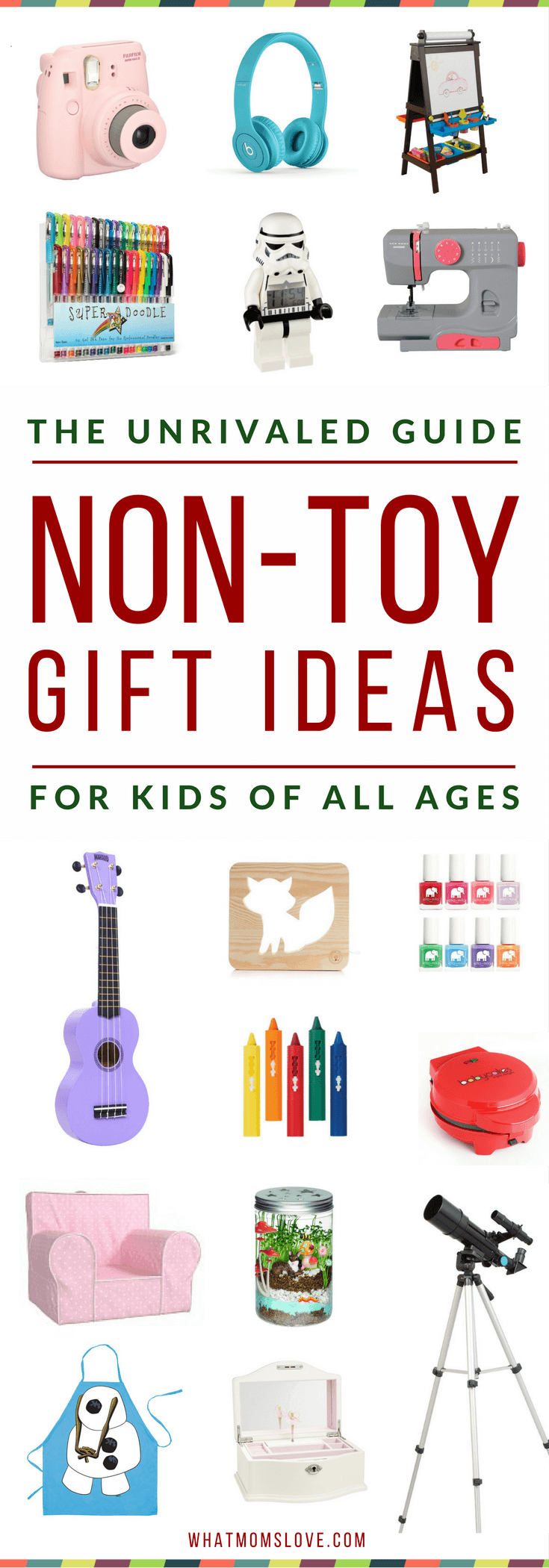 Best Non Toy Gift Guide For Kids