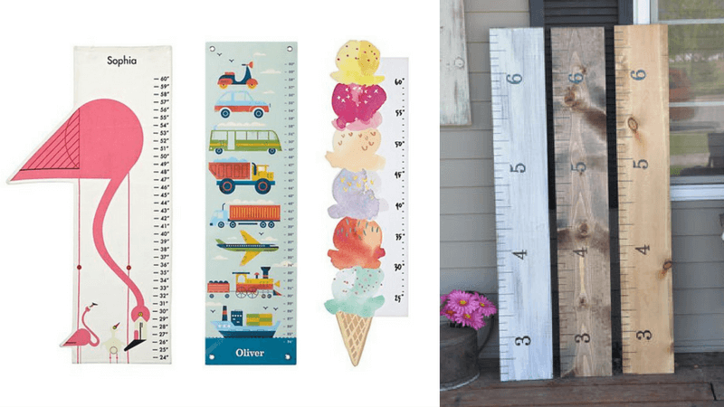 Best Non-Toy Gifts for Kids - Personalized Growth Chart