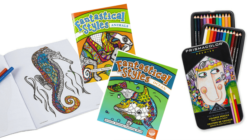 Best Non-Toy Gifts for Kids - Adult Coloring Books for kids