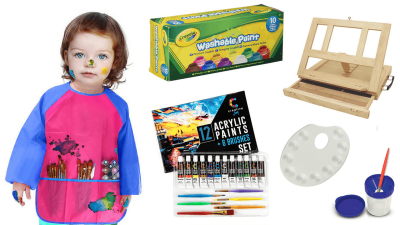 Best Non-Toy Gifts for Kids - Hobbies and Interests - Painting