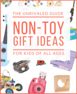 The Best Non-Toy Gift Guide for Kids