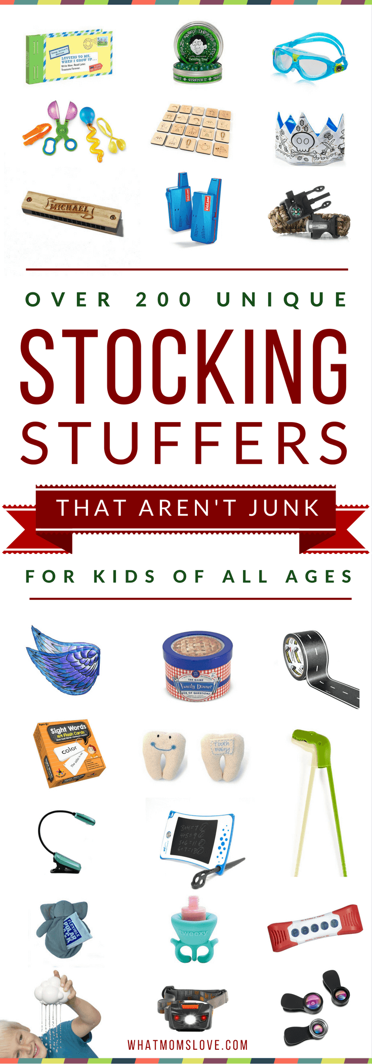 Best Stocking Stuffers For Kids Small Gift Ideas Babies Toddlers Tweens