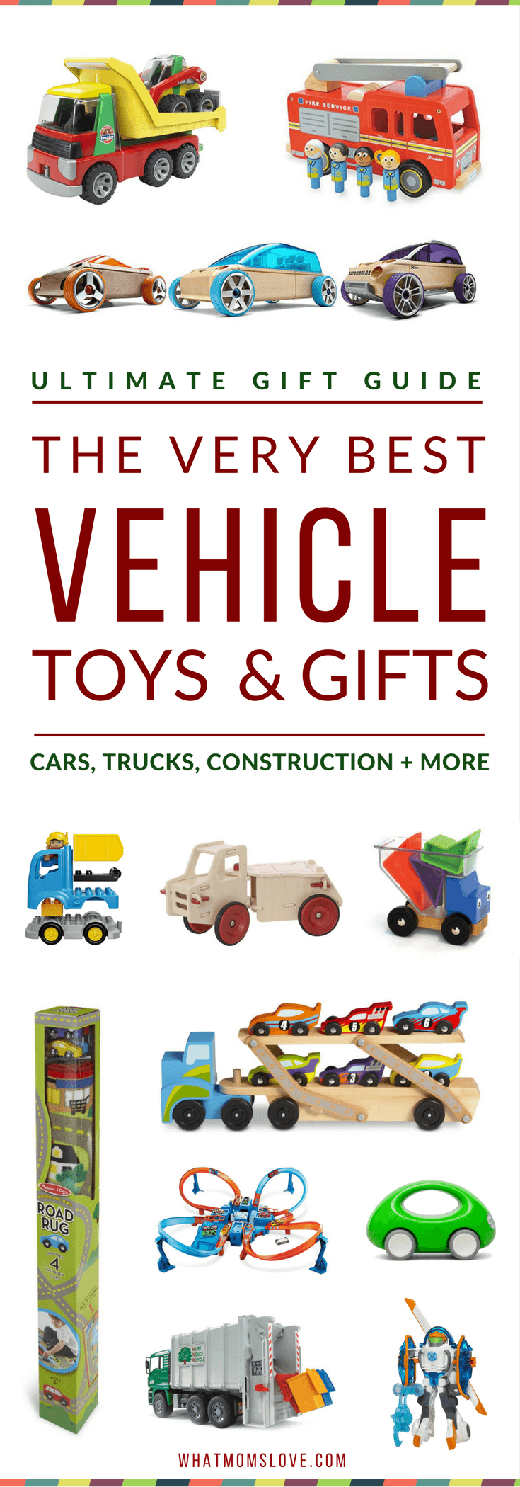 Construction Vehicle Toys For Boys : Gift guide the best vehicle toys for car truck