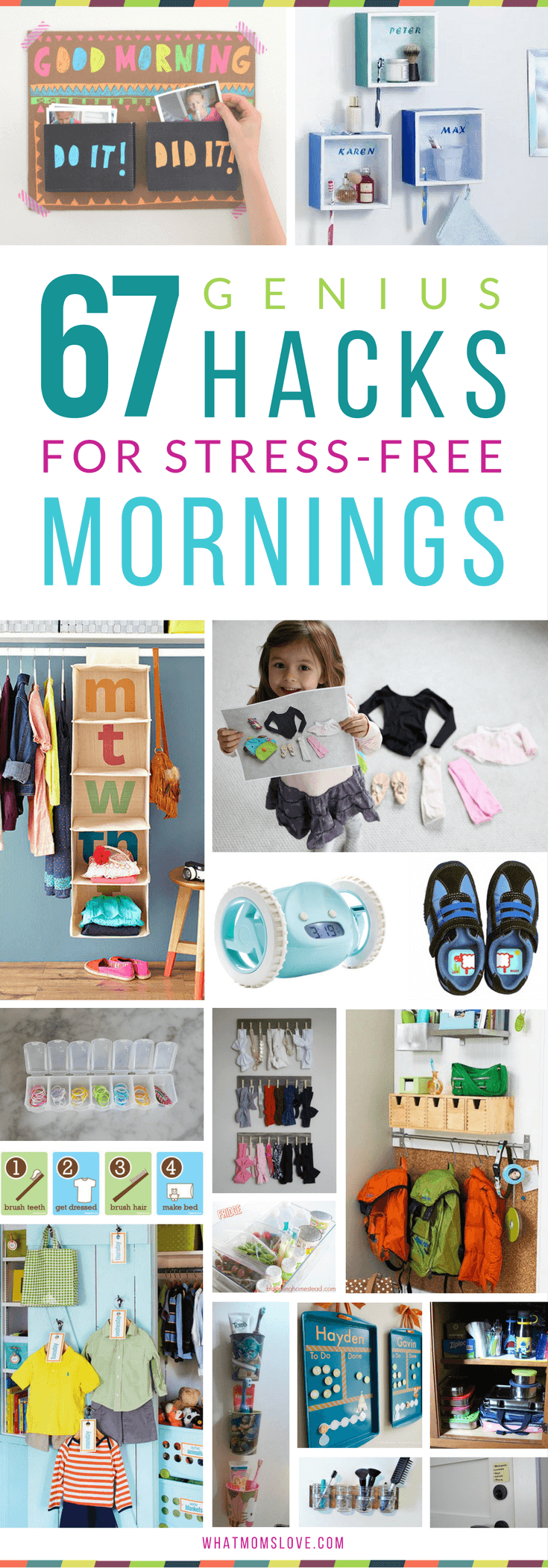 67 Life Changing Organization Tips & Hacks For Stress-Free Mornings