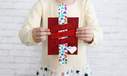 "Non‐Candy Printable Valentines Day Card Perfect For The Classroom: ""You Make Me Really Slappy!"""