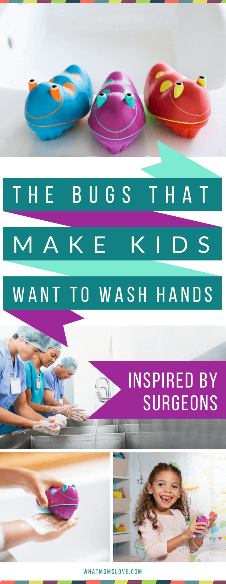 Scrub Bugs - keep your kids healthy all year round - especially during the winter, flu and cold season! These Scrub Bugs are 3 times more effective, and a fun way to get kids to wash their hands - keeping them healthy, instead of sick - hurrah! Learn more and get an exclusive promo code at whatmomslove.com