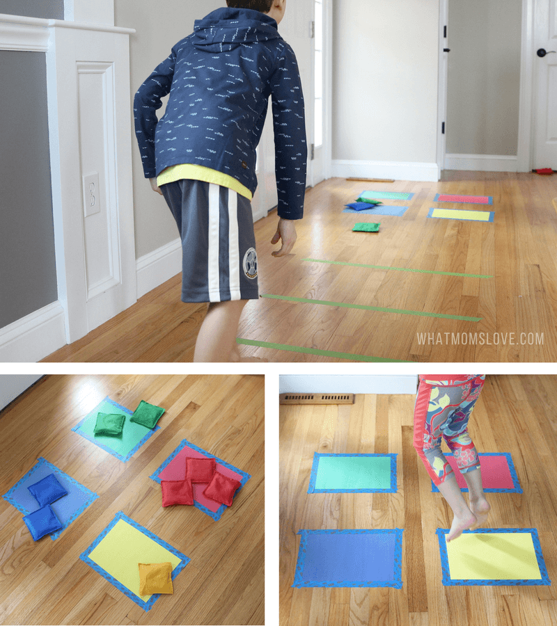 87 energy busting indoor games activities for kids for Indoor gross motor activities