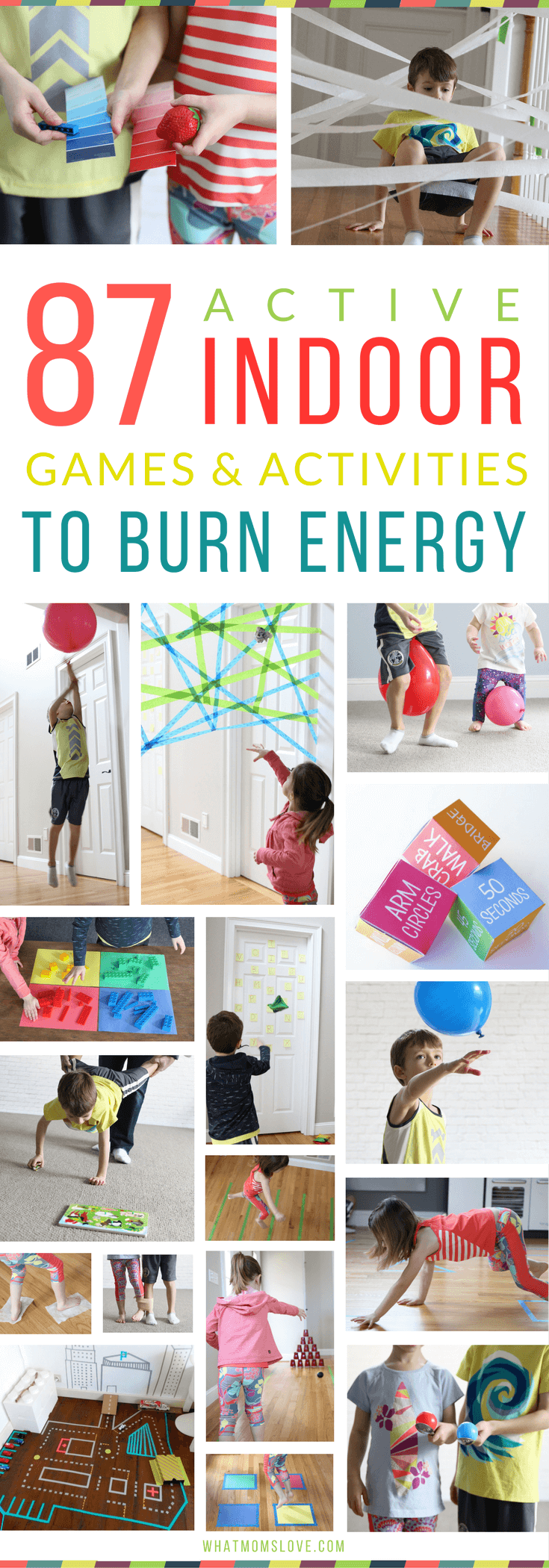 87 Energy Busting Indoor Games Activities For Kids Because Cabin
