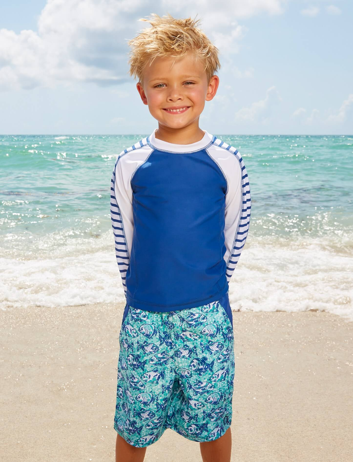 Stylish Sun Protective Swimwear and Rash Guards | The Best Summer Essentials for Moms, Toddlers and Kids