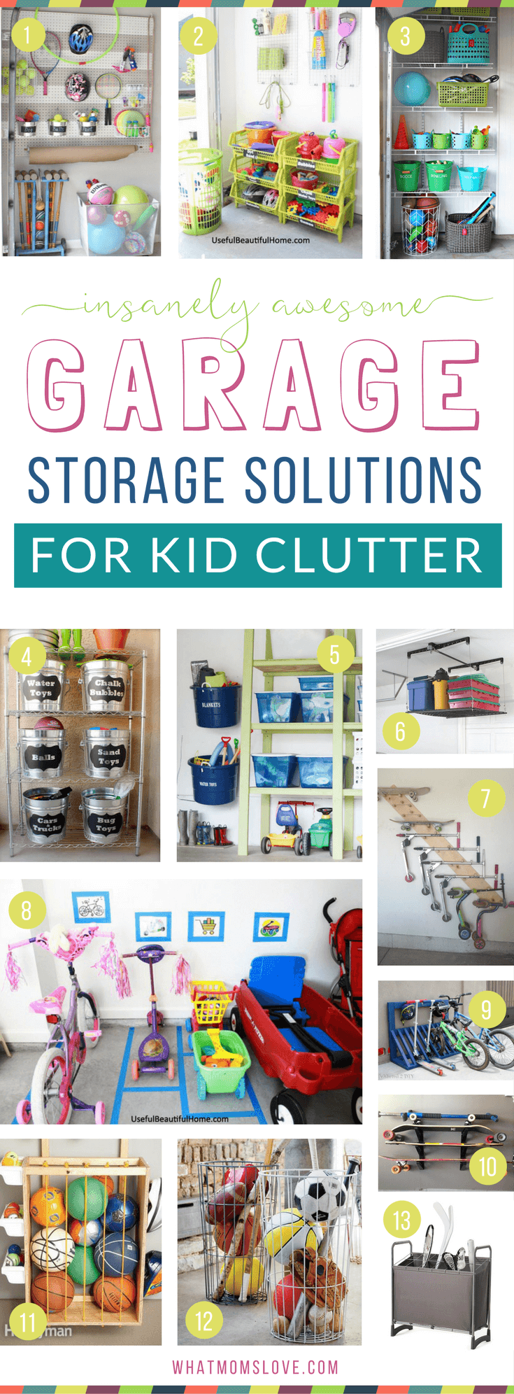 How To Organize Your Garage Eliminate Toy Clutter Diy Ideas Products Inspiration And Tips Create More Storage For Kids Stuff