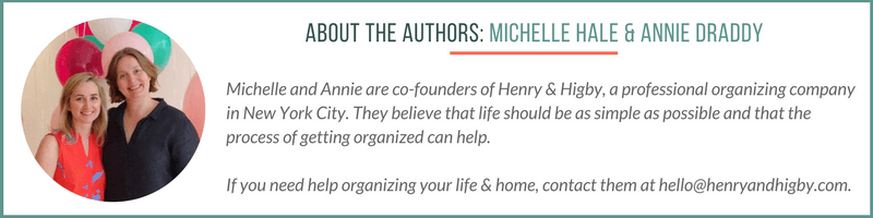Henry and Higby - organization and styling services for the home and office