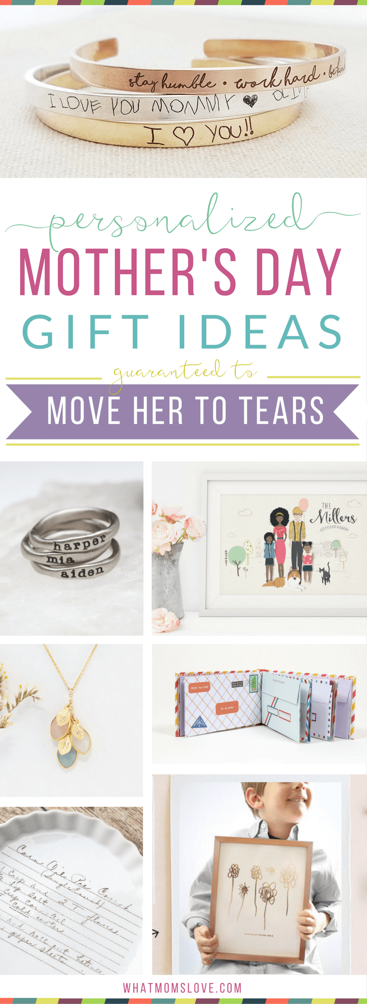 Unique Personalized Gift Ideas For Mothers Day