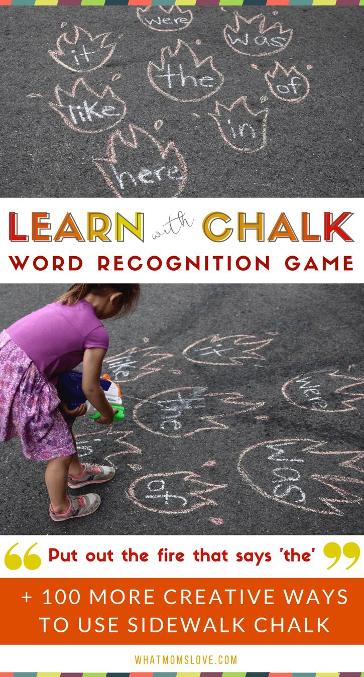 101 Genius Sidewalk Chalk Ideas To Crush Summertime Boredom