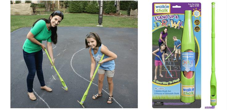 Sidewalk Chalk Ideas For Kids | Walkie Chalkie - such a cool product!
