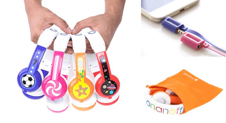 Best Headphones For Kids - ONANOFF BuddyPhones