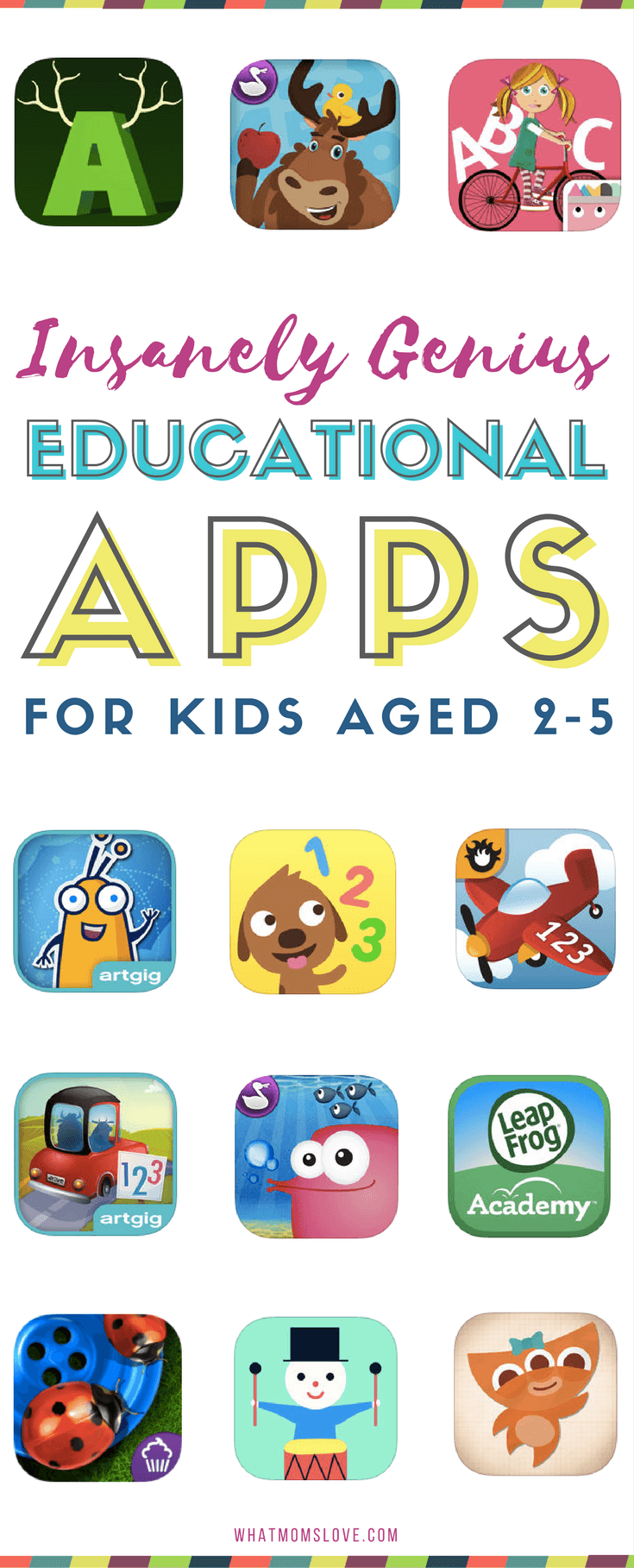 The Best Educational Apps for toddlers and preschoolers