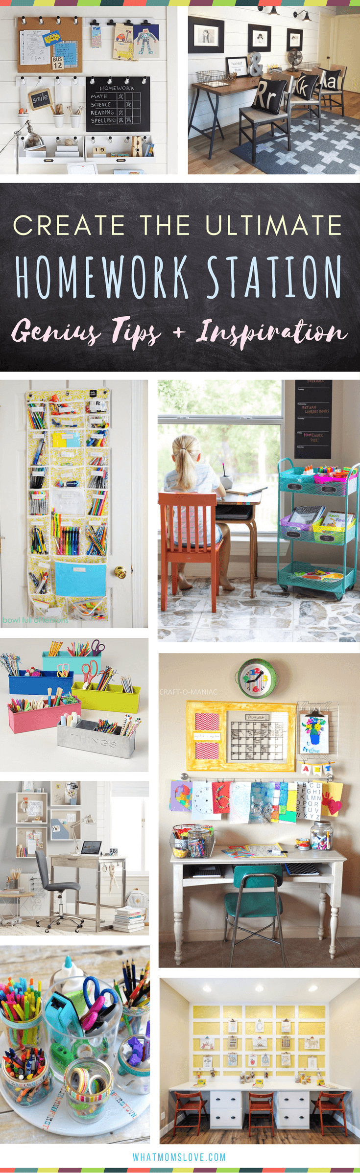 Homework Station For Kids The Best Organization Ideas How To Create A Study E