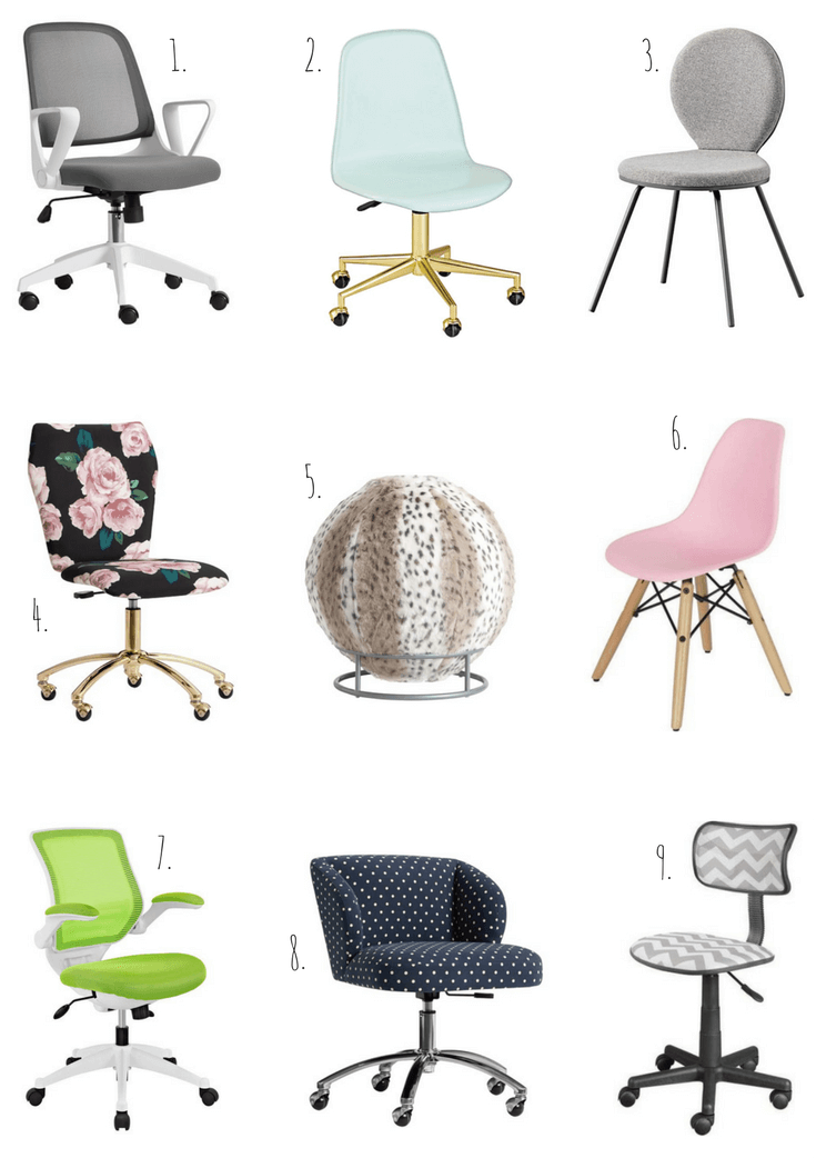 Homework Station Desk Chairs for Kids