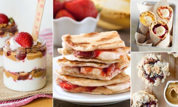 "23 Genius Twists On The Peanut Butter <span class=""amp"">&</span>Jelly Sandwich"