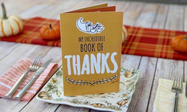 Free Printable Thanksgiving GratitudeBooklet