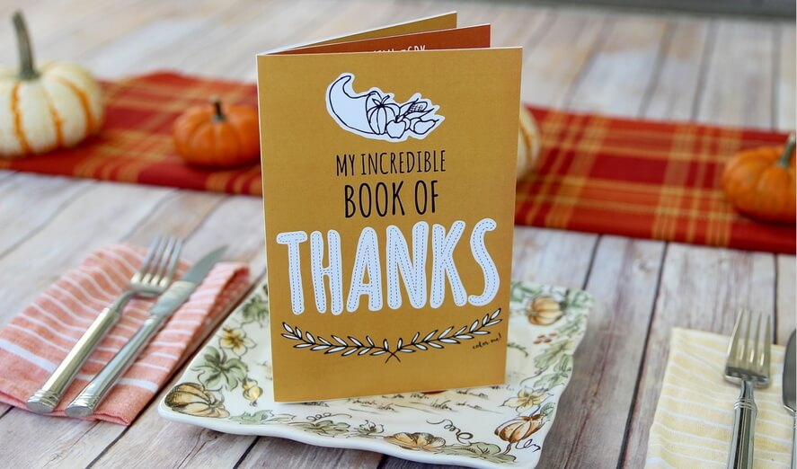 Free Printable Thanksgiving Gratitude Booklet