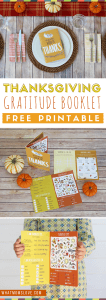 Thanksgiving Printable for Kids | Teach Gratitude with this super fun activity perfect for your kids' table! Thankful ideas for kids - this free printable makes a great Thanksgiving craft and card!