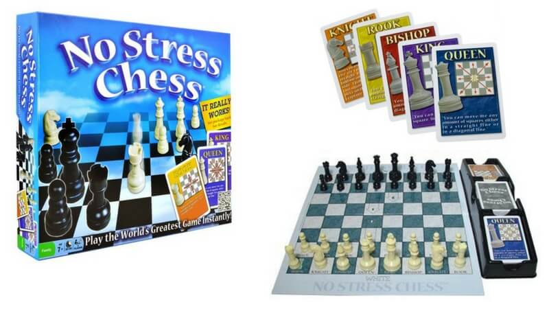 Best Board Games for Kids - no stress chess review - what