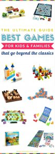 Best Boards Games for Kids and Families   Fun learning and educational games that go beyond the classic - these make awesome birthday or christmas gifts