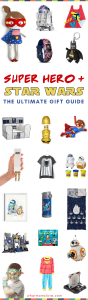 Best Super Hero and Star Wars gift ideas for kids